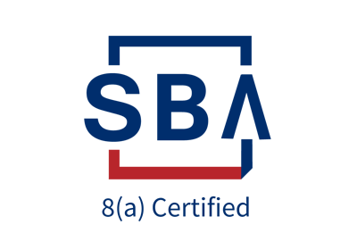We are 8(a) Certified